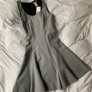 H&M flared mini dress size 2